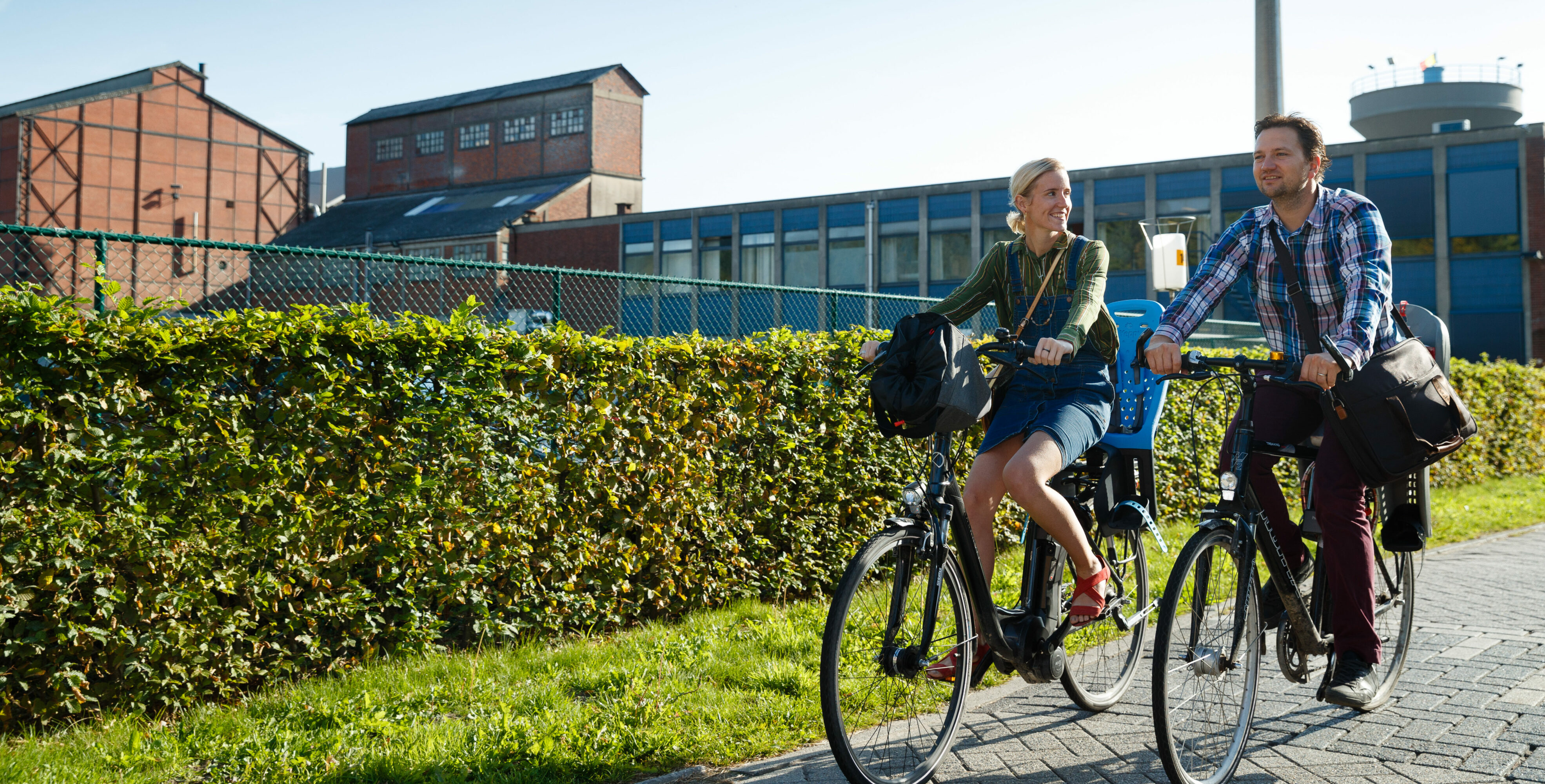 Week van de mobiliteit: Één vierde van de medewerkers bij Campine fietst naar het werk